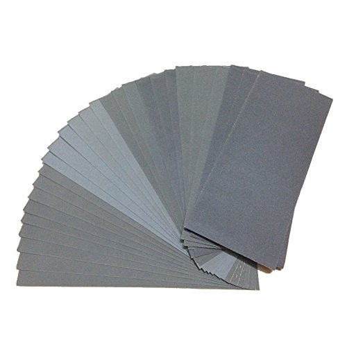 27-pcs-wet-dry-sandpaper-400-to-3000-grit-sandpaper-assortment-9-36-inches-abrasive-paper-sheets-for