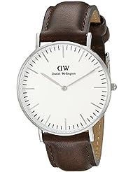 Daniel Wellington Herren-Armbanduhr Analog Quarz Leder DW00100023