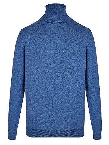 TIM´S Equestrian Herren Rollkragen Pullover Classic Blue Größen S