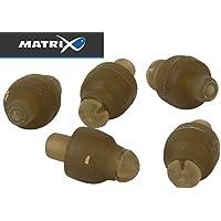 Pelletfixierung Fox Matrix Large Bait Aligner 10 Gummiringe für Pellets
