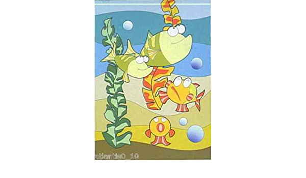 7 Malset mit Vorlage      Seewelt             3901-7