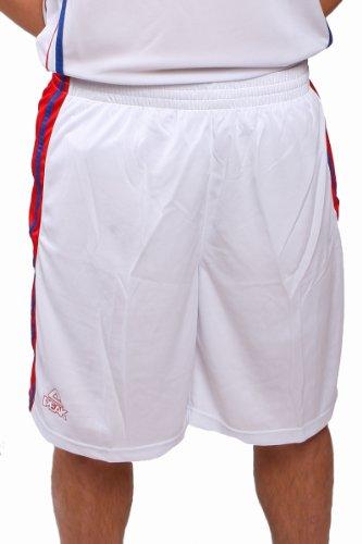 Peak Sport Europe, Pantaloni corti Uomo, F712281 rosso - rosso