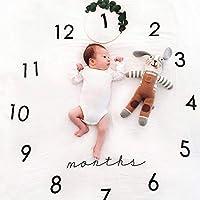 Bébé Milestone Couverture Photographie Props Toile de fond Photo Prop pour suivre la croissance de votre bébé