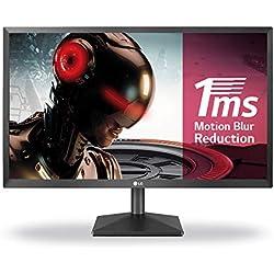 LG 22MK400H-B - Monitor Gaming de 54 cm FHD (21.5 Pulgadas, 16:9, 1920 x 1080, 1 MS, 200 CD /m2) Negro Mate