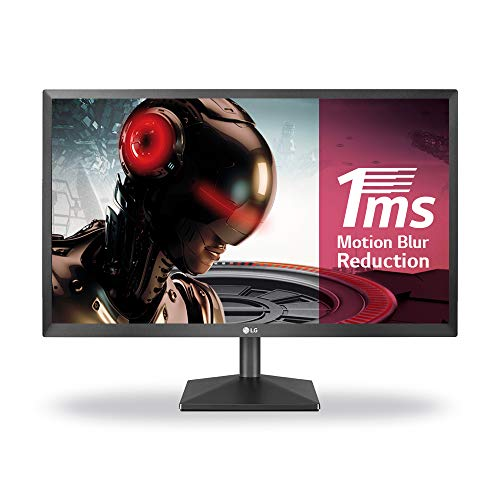 LG 22MK400H-B - Monitor Gaming FHD de 54,6 cm (21,5') con Panel TN (1920 x 1080 píxeles, 16:9, 1 ms, 75Hz, 200 CD/m², 600:1, NTSC >72%) Color Negro Mate