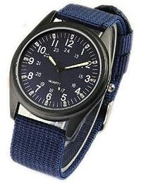 ORKINA YI-WAC14-03-187 - Reloj para hombres, correa de nailon color azul