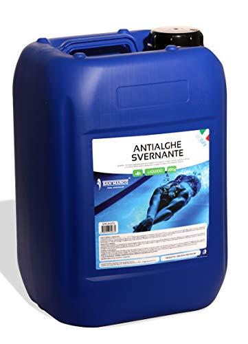 San marco antialghe svernante da 10 kg per piscine interrate o fuoriterra, trattamento invernale professionale. prodotto in italia