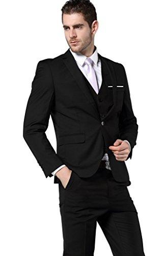 HZMK - Costume - Homme Noir - Noir