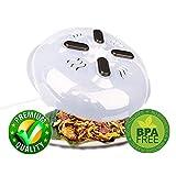 coperchio microonde,Copertura anti-sputtering della copertura a microonde magnetica,coperchio per microonde,schiacciamento con i vapori di vapore lavabile in lavastoviglie BPA libera