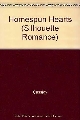 book cover of Homespun Hearts