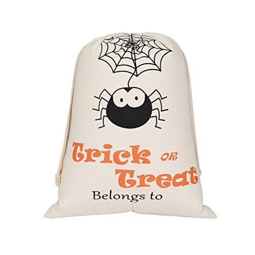 TENDYCOCO Kordelzug Süßigkeiten Aufbewahrung Halloween Süßes oder Saures Beutel Geschenk Aufbewahrungstasche Party Favor Bag
