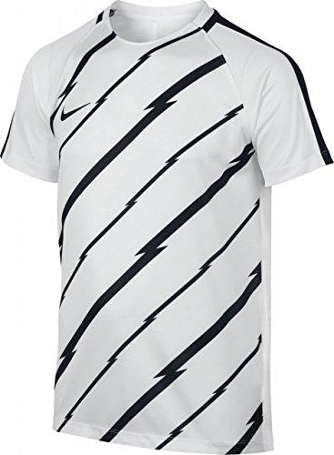 Nike/NK Dry SQD Top SS GX maglietta a maniche corte, uomo bianco