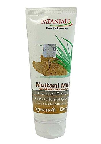 Patanjali Aloevera Multani Mitti Face Pack, 60g (Pack of 2