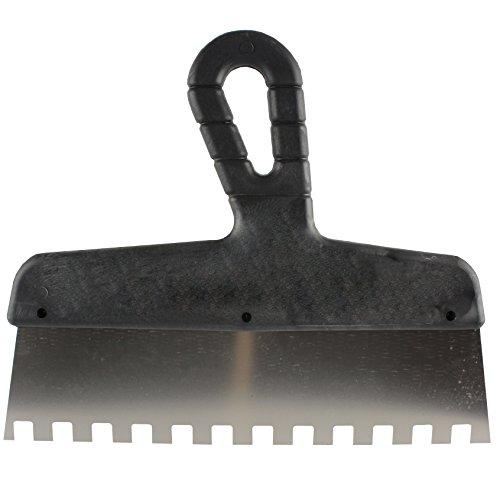 MKK - 19797-003 - Zahnspachtel Kleberspachtel Zahnkelle Größe 150 mm 10x10 mm