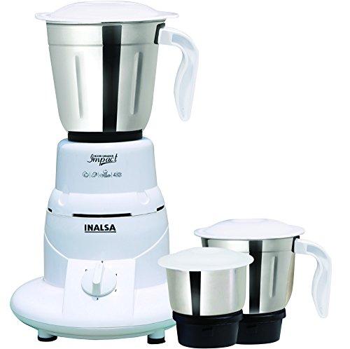 Inalsa Impact 550-Watt Mixer Grinder  available at amazon for Rs.2499