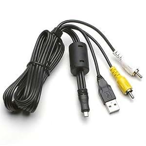 Pentax Câble USB / AV I-UAV77 pour Optio E50