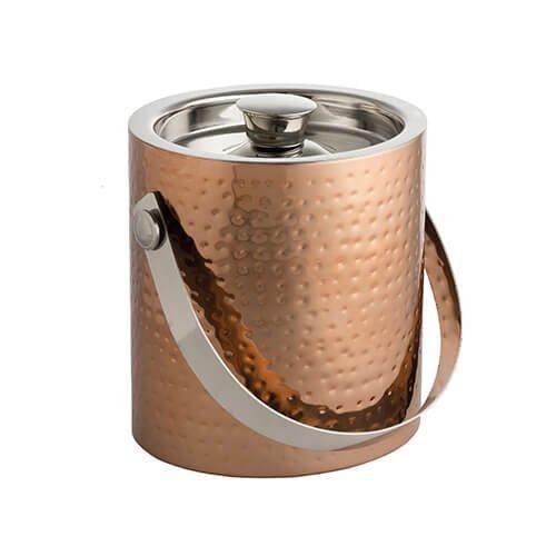 Epicurean Ice Bucket mit Zange, Kupfer