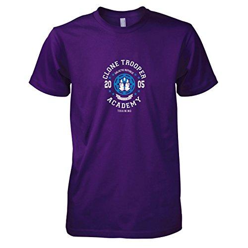 Texlab Commander Appo Academy - Herren T-Shirt, Größe -