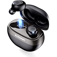 ELEGIANT Auriculares Bluetooth TWS 5.0, Mini Cascos Inalámbricos Deportivos Estéreo con Micrófono Sincronización Automática 5