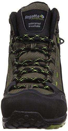 Regatta Ultra-Max Mid X-LT, Chaussures de randonnée homme Marron - Roasted/Dark Spring
