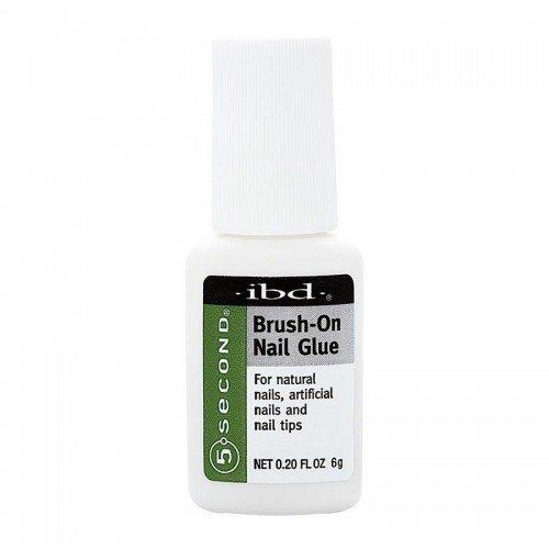 ibd Adhesives - 5 Second Brush-On Nail Glue - 6g