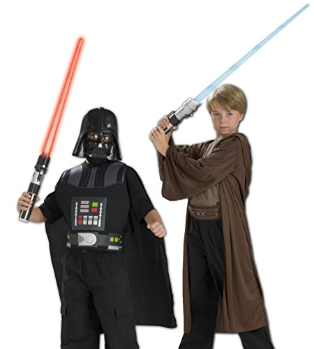 COFFRE DE DEGUISEMENTS STAR WARS DARK VADOR + JEDI - TAILLE UNIQUE - (Dark Kostüm Vador Von)
