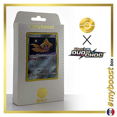 Jirachi 99/181 Holo - #myboost X Soleil & Lune 9 Duo de Choc - Box de 10 Cartas Pokémon Francés