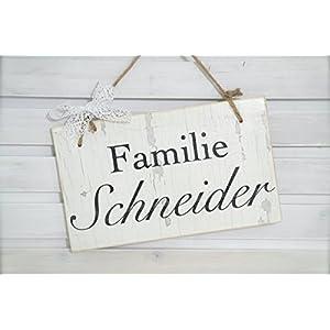 Türschild für den Eingang / Familie / Handmade / Hochzeit / Gastgeschenk