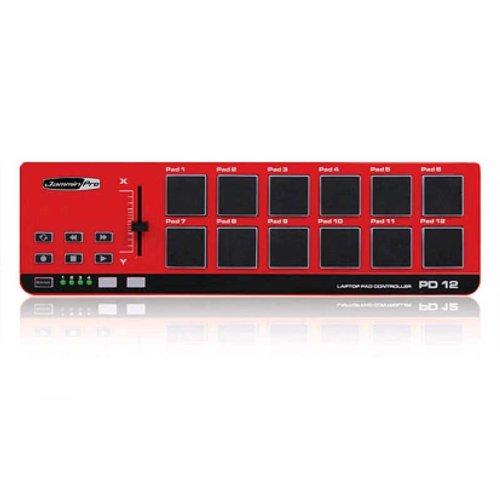Jammin Pro PD12 Midi Drum Sequenzer mit 12 Drum Pads