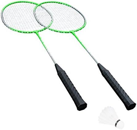 Hudora Set Set Set di Badminton Fly High – 2 Racchette da Badminton + Piuma Ball – 76414 B00LPJUM30 Parent | Outlet Store  | Lavorazione perfetta  | Prodotti di alta qualità  | Il materiale di altissima qualità  575214