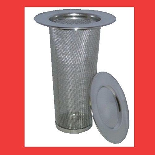 Teesieb für Thermoskannen Dauerfilter Edelstahl Teefilter Stahlfilter