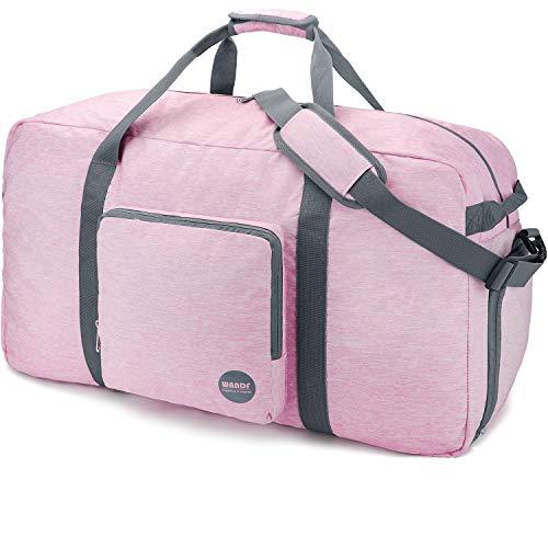 Faltbare Reisetasche 120L, Superleichte Reisetasche für Gepäck Sport Fitness Wasserdichtes von WANDF