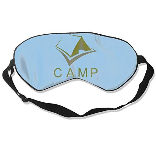 Masken, Masken für Erwachsene, Fashion Sleep Mask Green Camp Eye Cover Blackout Eye Masks,Breathable Blindfold Soft Blindfold for Travel - Nap - Shift Work - Meditation