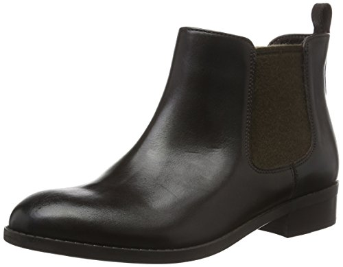 Clarks Damen Pita Sedona Kurzschaft Stiefel Braun (Dark Brown Leather)