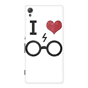 Neo World I Love Specs Back Case Cover for Xperia Z4