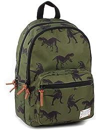 Preisvergleich für Skooter Backpack Animal Kingdom Green Dino Kinder-Rucksack, 38 cm, Grün (Green)