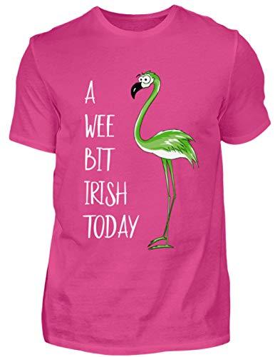 | Grüner Flamingo| etwas irisch Heute | Prost Irland St Patricks Day - Herren Premiumshirt -S-Pinky ()