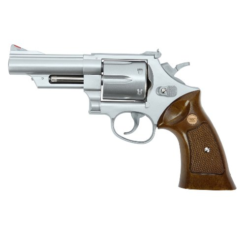 UHC M-29 Softair Revolver - 4 Zoll Springer silber 6mm BB