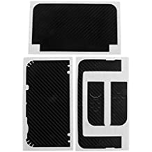 Phenovo Carbon-Fibre Protective Vinyl Sticker For Nintendo NEW 3DS XL 3DS LL 3DSXL Black