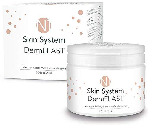 N1 Skin System Dermelast Kollagen Trinkpulver - Anti-Aging von innen! | Weniger Falten, verbessertes Hautbild & mehr Hautfeuchtigkeit | 30 Tage KUR - Kollagen-erneuerung