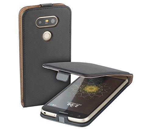yayago Flip Tasche für LG G5 / LG G5 SE / LG G5 Lite Schutzhülle Flip Case Hülle Klapphülle Schwarz
