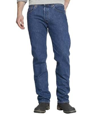 Levi's Homme 501 Original Straight Fit Jeans - Bleu (Stonewash) - W38/L32 (Taille Fabricant : W38/L32)