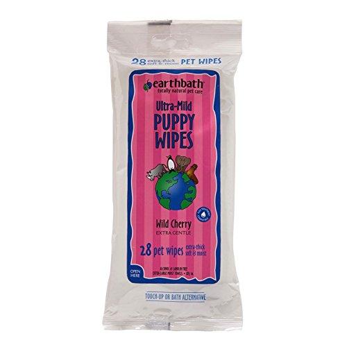 Artikelbild: earthbath Cherry Puppy Pflege Tücher, 28Stück