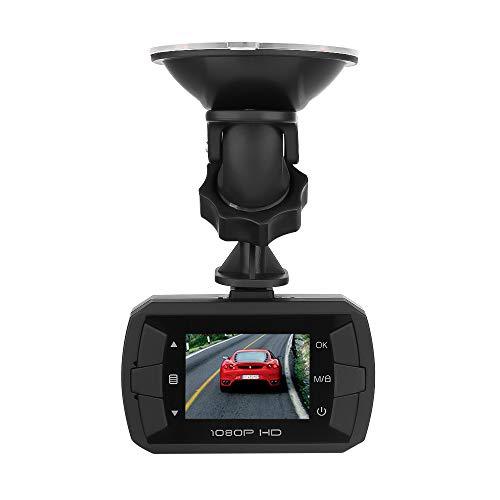 Benbzh Telecamera per Auto 1.5 '' FHD 1080P Telecamera Nascosta DVR Dash Cam Veicolo Videoregistratore Videocamera G-Sensor grandangolo 170 ° (Nero)