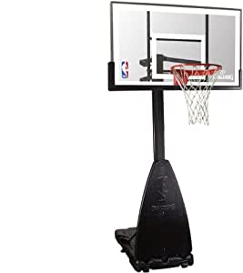 Spalding lt-90008 NBA Platinum Portable, Transparent, 3001650010954