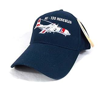 HC-130 Hercules U.S Coast Guard Casquette brodée Militaire Garde Cote Américain