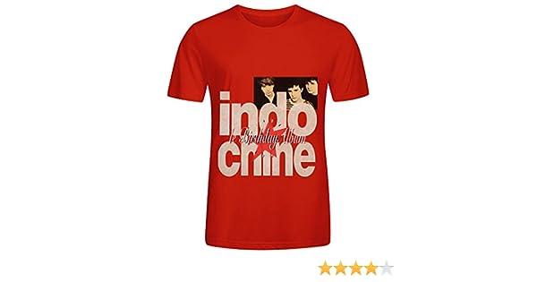 Jenny Dorothy Indochine Le Birthday Album 1981 1991 Pop Hommes Crew Neck Customized T Shirt XXXX-L