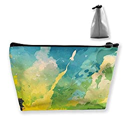 Travel Cosmetic Bags Abstract Art Small Makeup Bag Multifunction Pouch Cosmetic Handbag Toiletries Organizer Bag for Women Girl