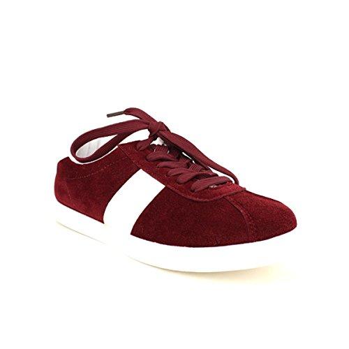 Cendriyon Basket Bordeaux SLIPPEURS Chaussures Femme Bordeaux