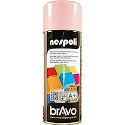 AEROSOL Peinture Rose Pâle - Peinture Pro Brillant - 400ml